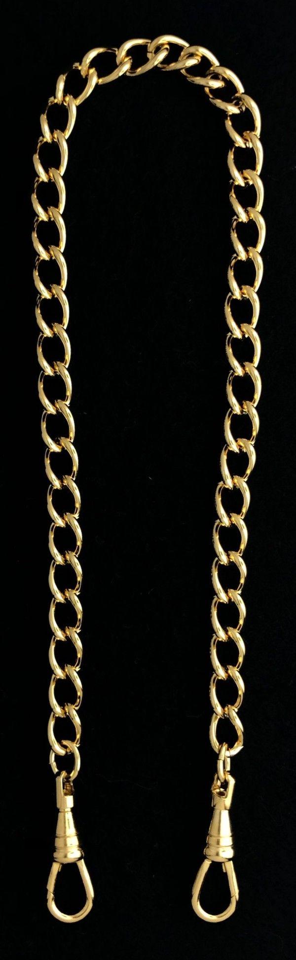 Chain Collar Neck Preventer Chain Gold New