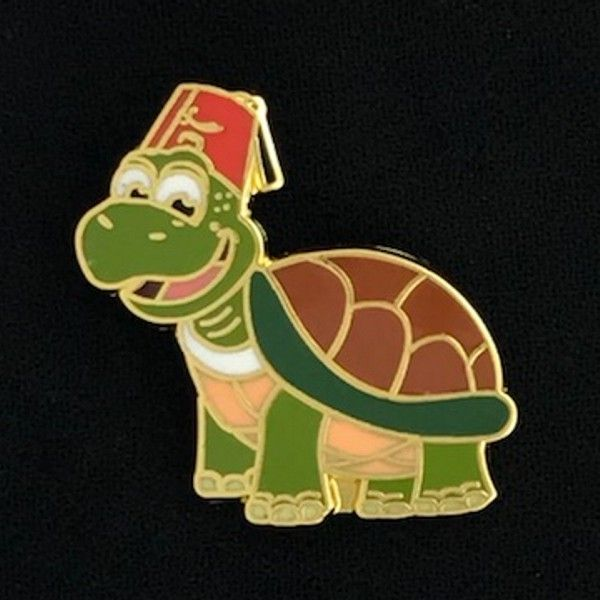 Shriner Turtle Lapel Pin