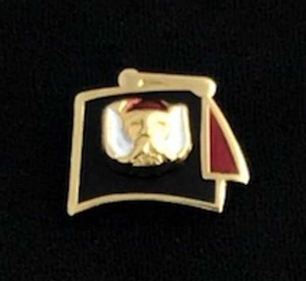 Masonic Grotto Fez Lapel Pin New