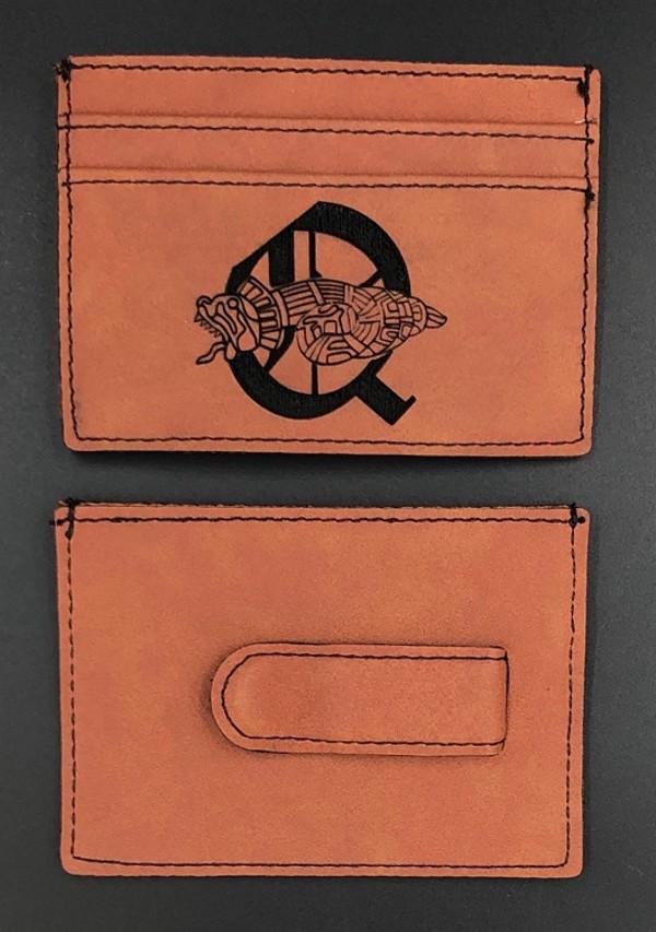 Order of Quetzalcoatle Leather Money Clip Wallet