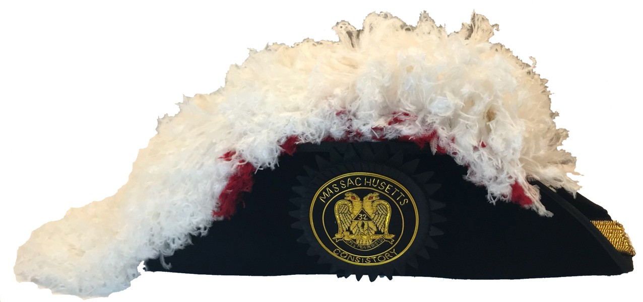 Scottish Rite Chapeau - Model 300