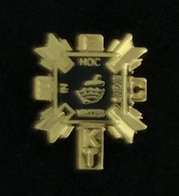 Past Eminent Commander Lapel Pin - Style 2