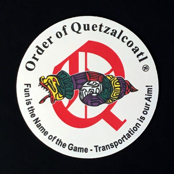 Order of Quetzalcoatl Full Color Round Mousepad