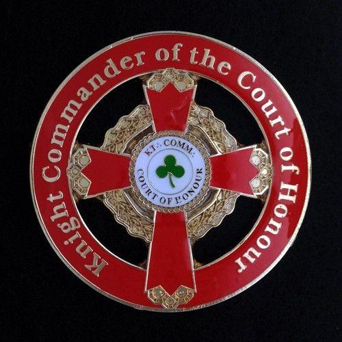 Scottish Rite KCCH Cast Auto Emblem New