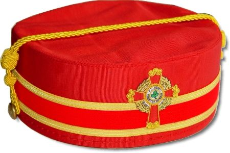 Scottish Rite Cap Crown KCCH Knight Commander Southern
