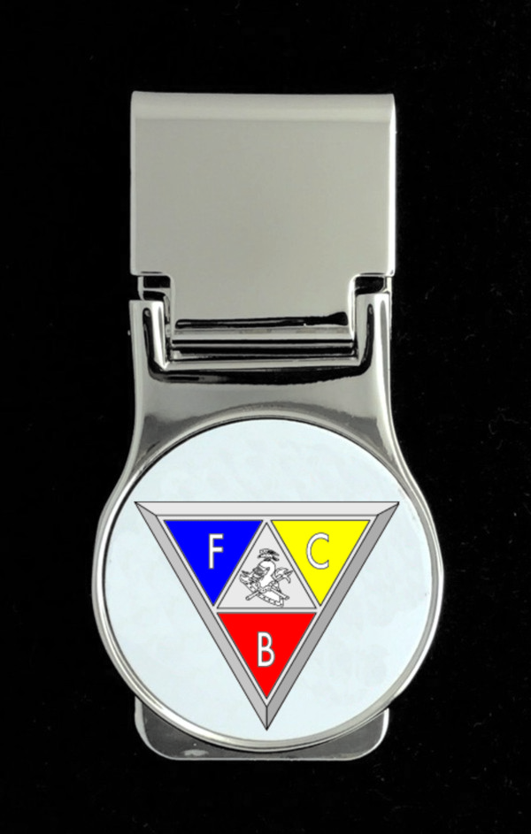 Knights of Pythias Money Clip (1) - Triangle Emblem