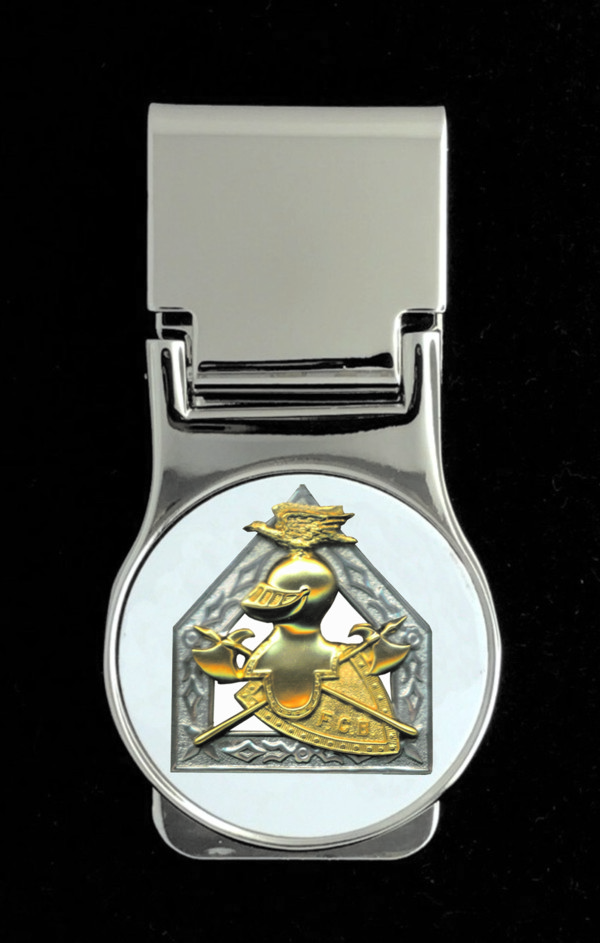Knights of Pythias Money Clip (5) - Past Chancellor Commander