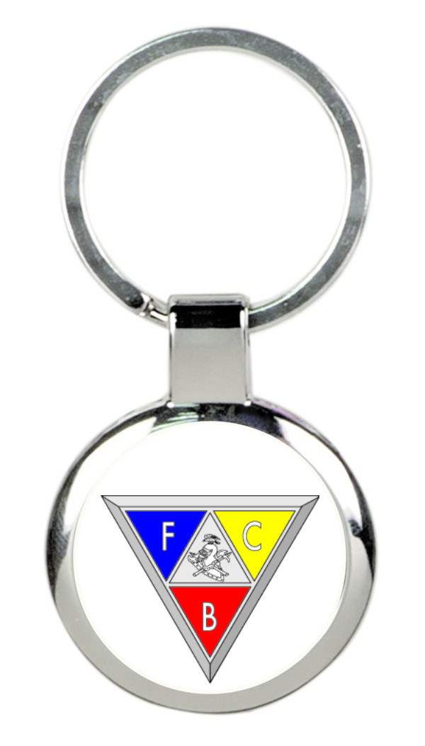 Knights of Pythias Key Tag (1) - Triangle Emblem