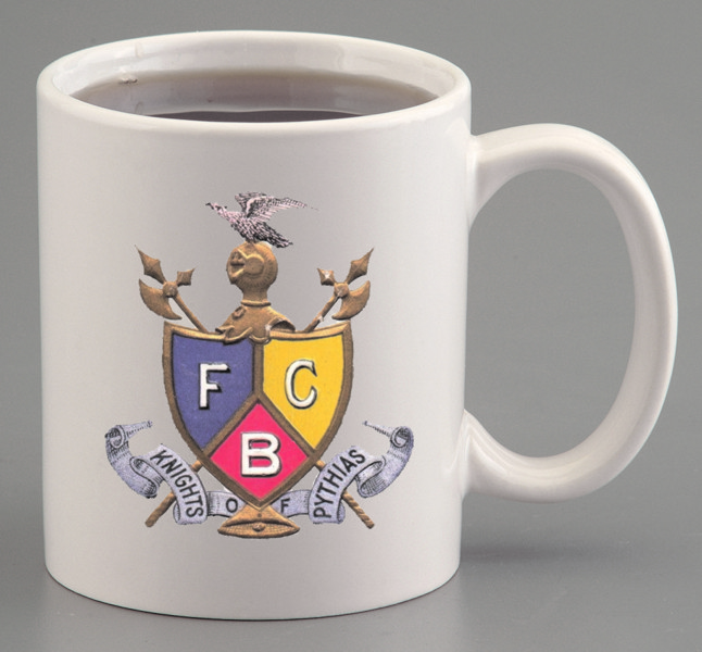 Knights of Pythias Ceramic Mug (2)