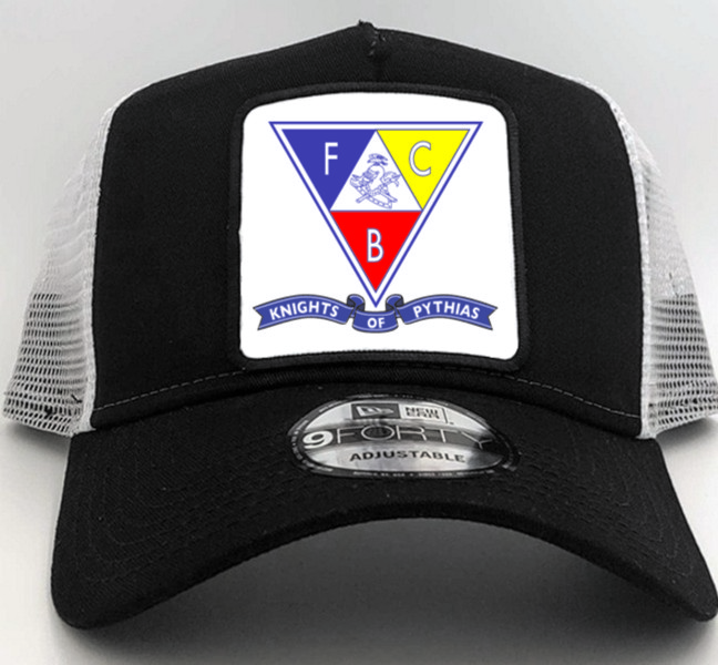 Knights of Pythias New Era Cap in Black with Square Patch (1)