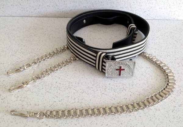 Knight Templar Sword Belt New For Sale