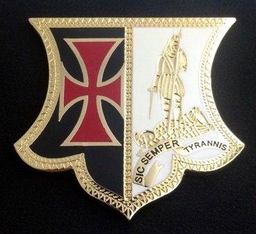 Knights Templar Award Badge Medal New