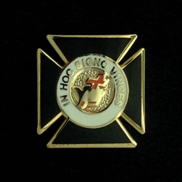 Knights Templar Lapel Pin New