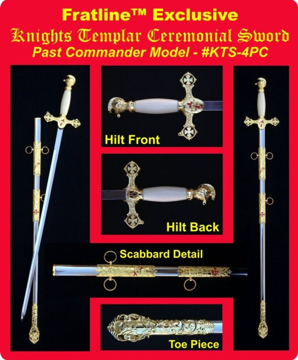Knight Templar Sword New For Sale