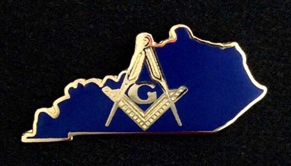 Masonic Master Mason Kentucky Lapel Pin New