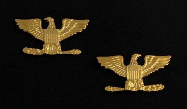 Colonel Rank Uniform Insignia Gold New