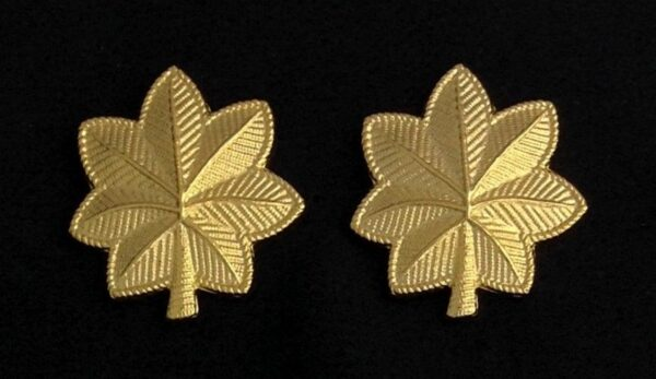 Major Rank Uniform Insignia New