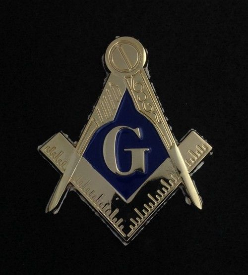 Masonic Auto Emblem New For Sale