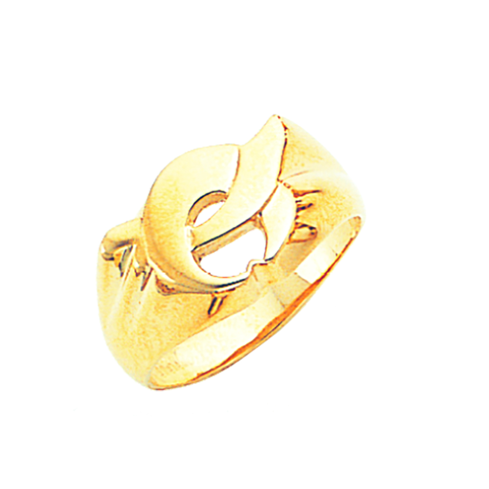 Shriner Ring - Open Back in 10K Gold (7)