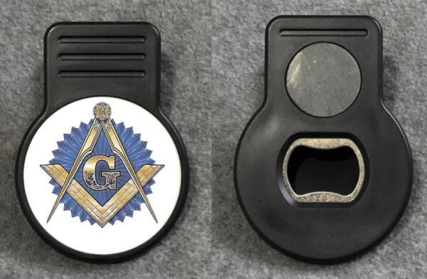 Masonic Emblem Memo Clip New