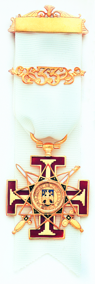 Scottish Rite 33rd Degree Jewel New