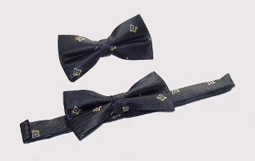 Masonic Bow Tie Adjustable Black New