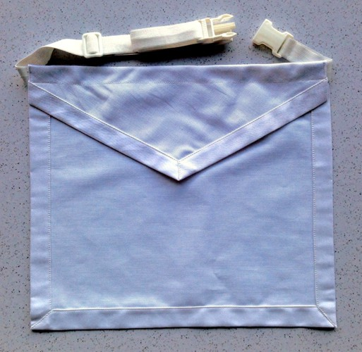 Masonic Cloth Apron Elastic Belt New For Sale