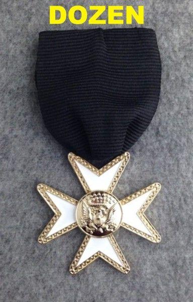 Knight Templar Order of Malta Jewel New