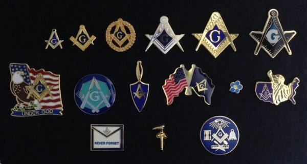 Masonic Lapel Pin Collection New Fratline