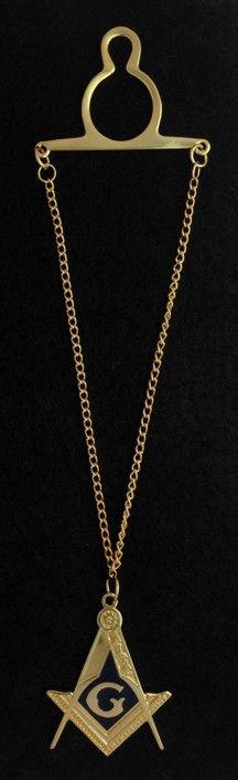 Masonic Emblem Tie Chain New For Sale