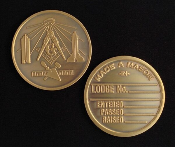 Masonic Medallion New For Sale