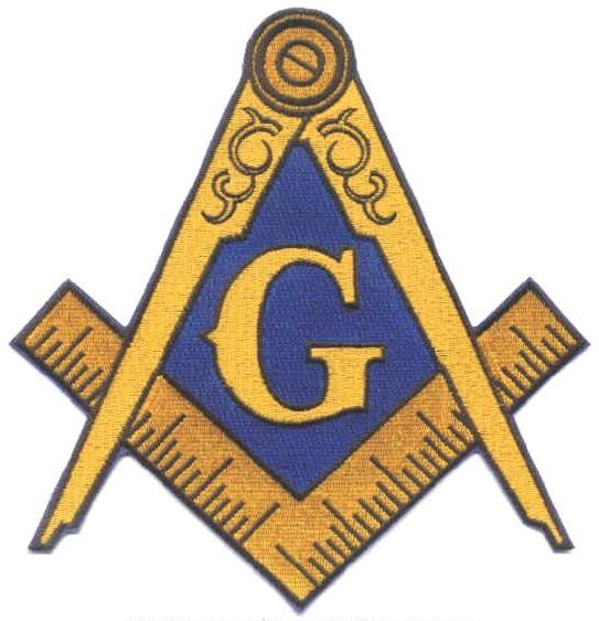 Masonic Emblem Embroidered Jacket Patch New