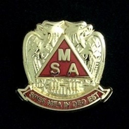 Scottish Rite Meritorious Service Award Lapel Pin New
