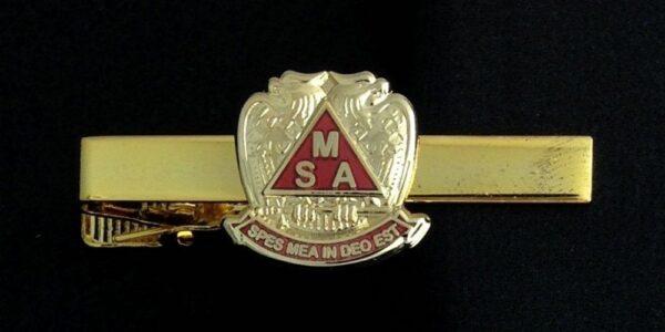 Scottish Rite Meritorious Service Tie Bar New
