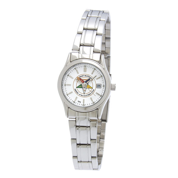 Eastern Star Past Matron Watch Silver New