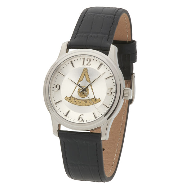 Masonic Past Master Watch Silver New Fratline