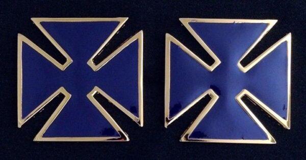 Past Grand Commander Metal Collar Cross Pin New