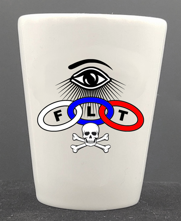 Odd Fellows Ceramic Shot Glass (2)