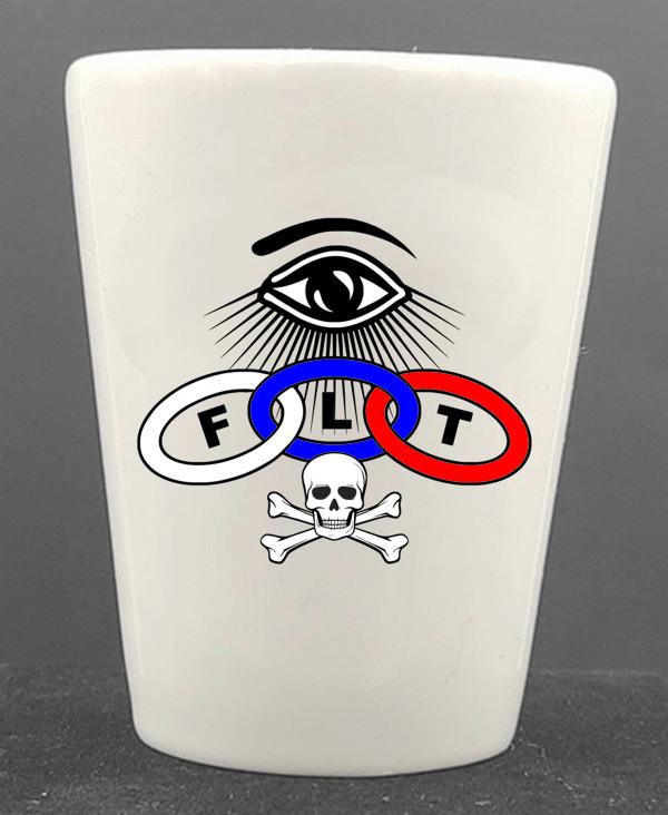Odd Fellows Shot Glass New