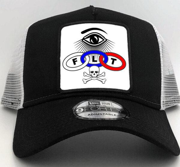Odd Fellows Cap Hat Black new
