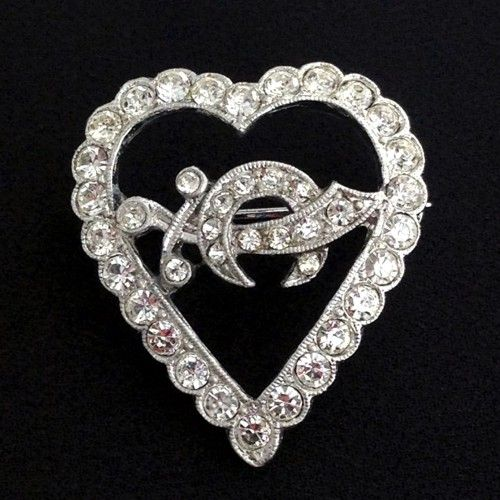 Shrine Lady Heart Pin