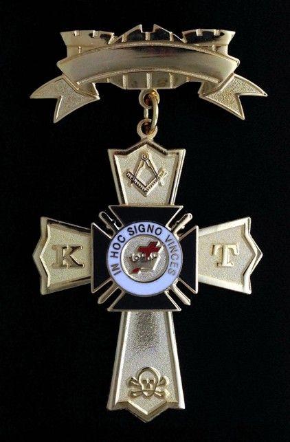Knight Templar Past Commander Jewel New