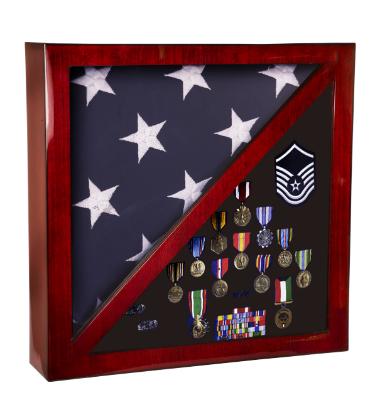 US Flag Medal Display Case New For Sale