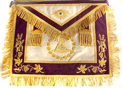 Masonic Past Grand Master Apron New