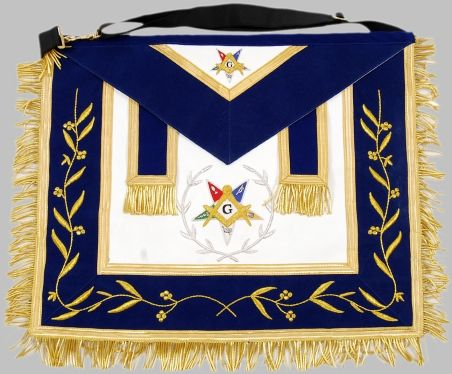 Order of the Eastern Star Grand Patron Apron New