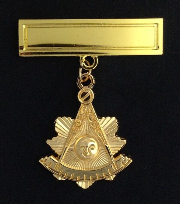 Masonic Past Master Pendant Jewel