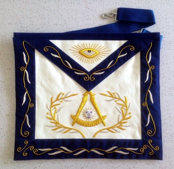 Past Master Apron (PM36) - Click Image to Close