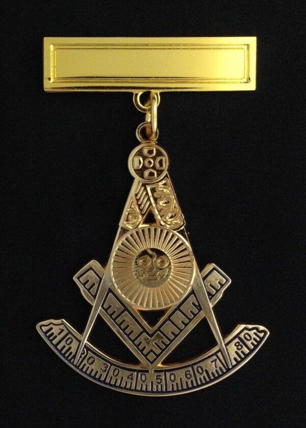 Masonic Past Master Pendant Jewel