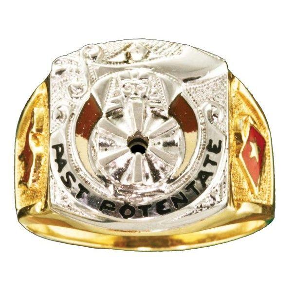 Shrine Shriner Past Potentate Ring Gold New