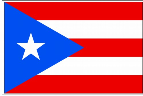 Puerto Rico Flag Outdoor